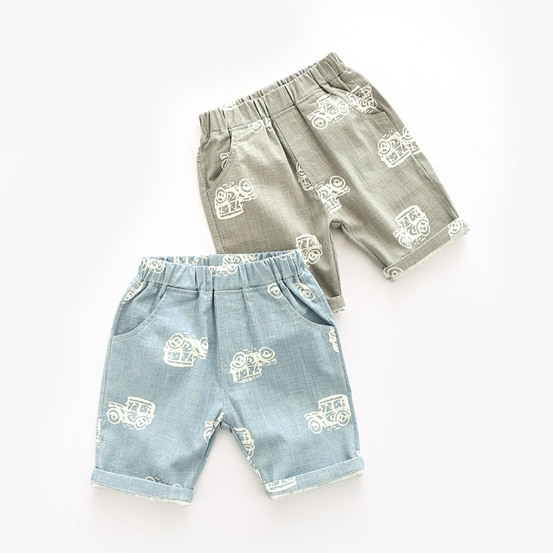 New Linen Vehicle Shorts