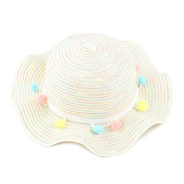 Tassel Decor Sun Caps