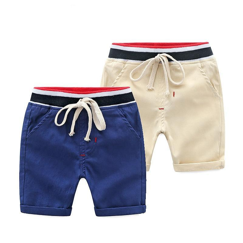 Cotton Elastic Garcon Shorts