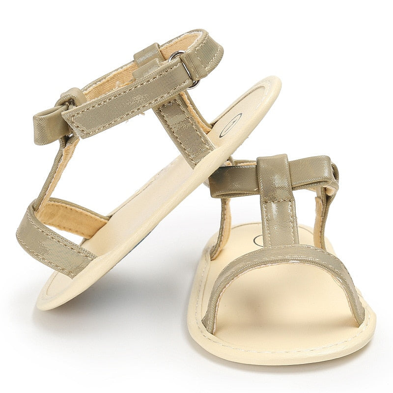 Shiny Soft Sole Sandals