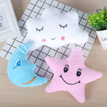 Cute Baby Stroller Hugable Pillow