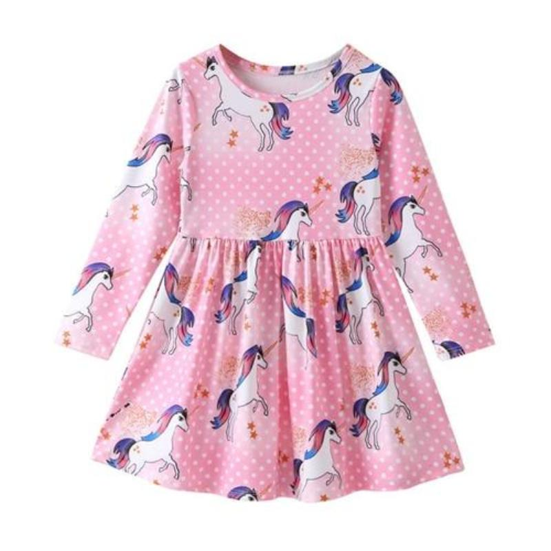 Longsleeve Princess Unicorn Dress