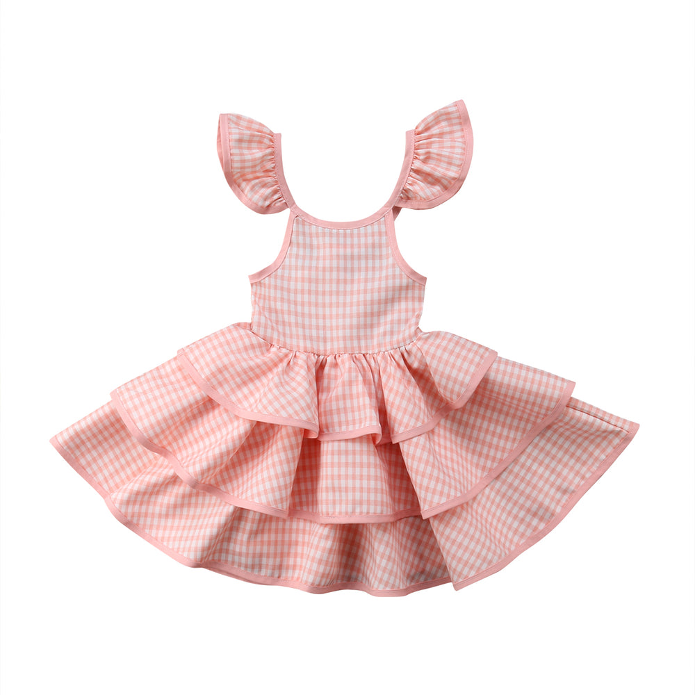 Ruffled Pageant Layered Dress