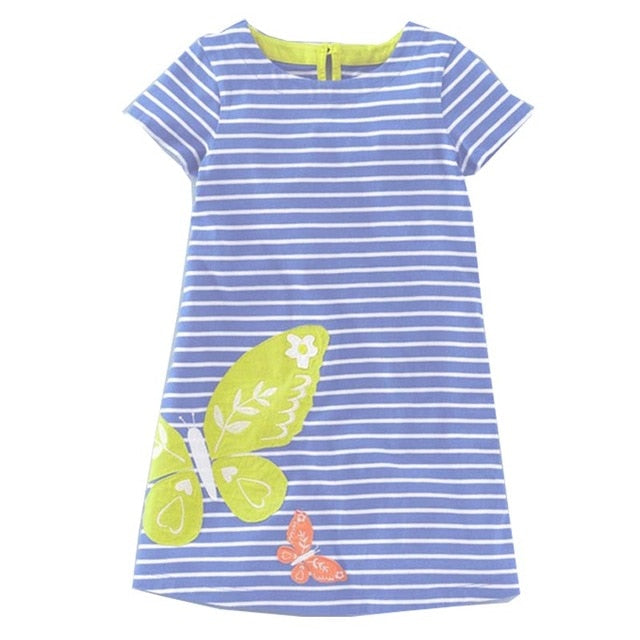 Striped Animals Dress