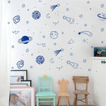 Star Planet Wall Decal