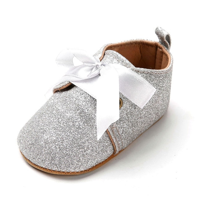 Stylish Glitter Baby Shoes