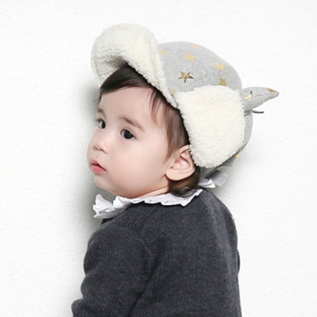 Tie Up Ear Cover Hat