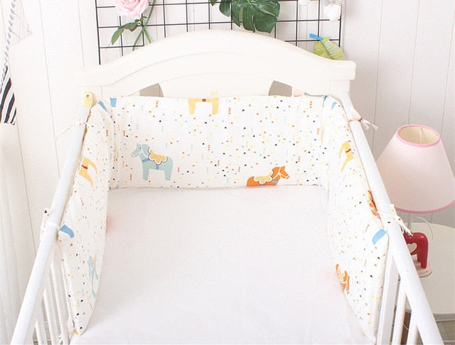 Wrap Around Crib Bumper