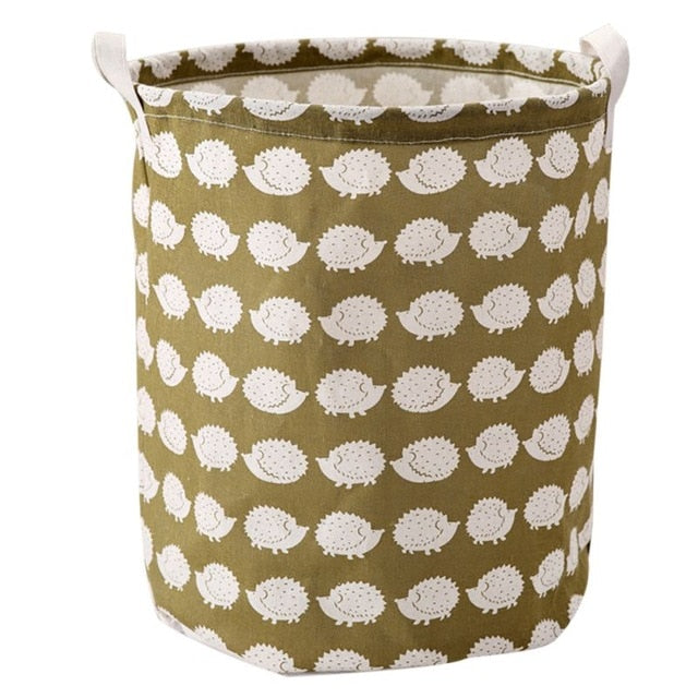 Cute Pattern Laundry Baskets