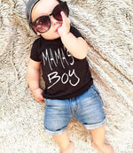 Mama's Boy T-shirt & Denim Shorts