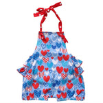 Cute Baby Girls Blue Sunsuit