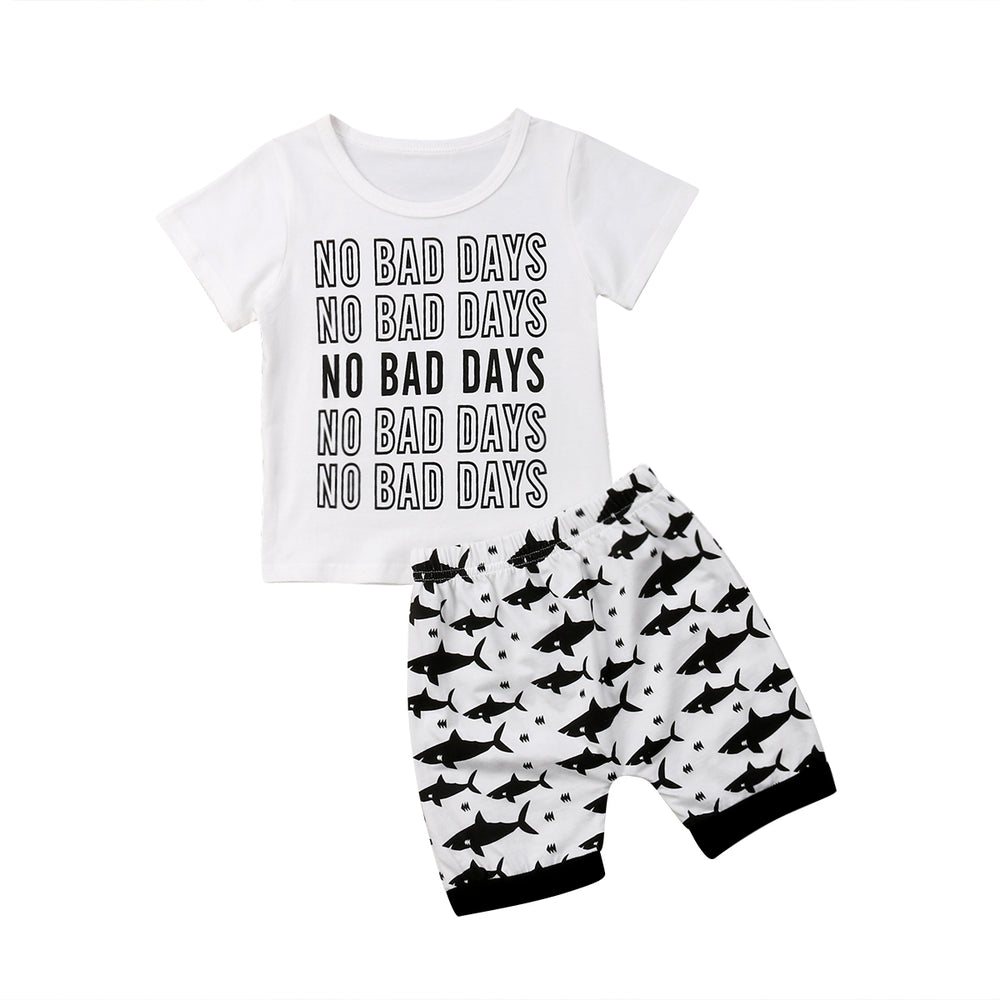 No Bad Days T-shirt + Shorts