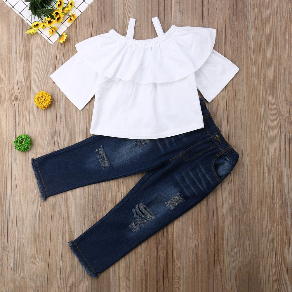 Fashion Loose Cotton 2PCS Set
