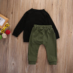 Ain't No Mama Long Sleeve Shirt+Pants 2 Pcs Set