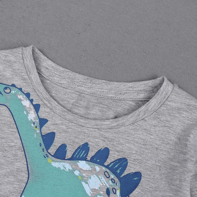 Long Sleeve Dinosaur T-Shirt