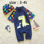 Jurassic Short Sleeve 2 Pcs Swimsuit