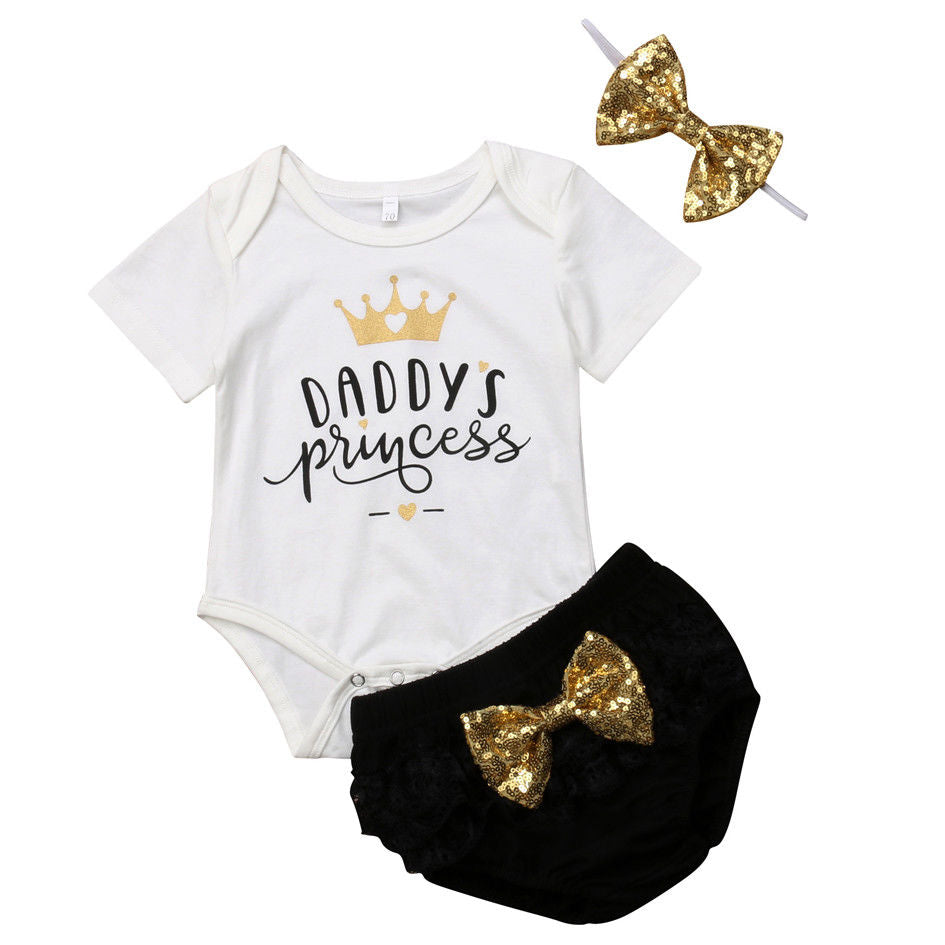 Daddy's Princess 3Pcs Set