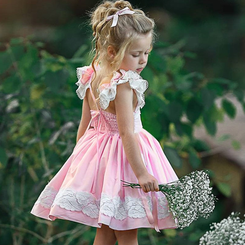 Elegant Pink Summer Dress