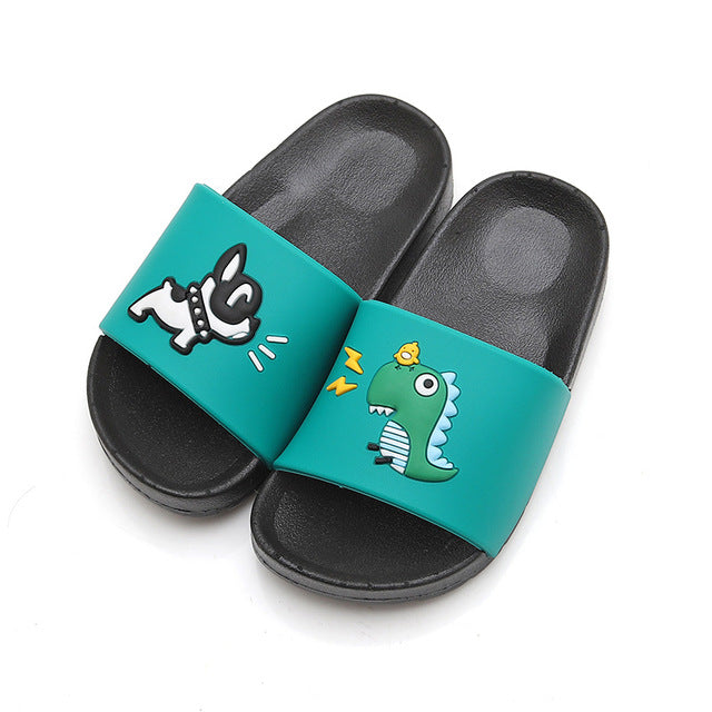 Cute Animal Beach Flip Flops