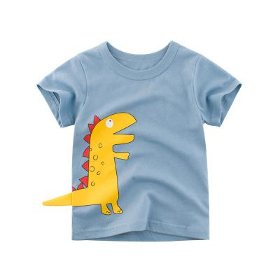 Cool Gray Dinosaur T-shirt