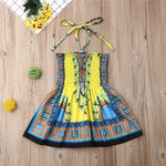 Afro Lace Up Sundress