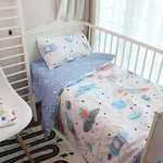 Spaceship 3 Pcs Baby Bedding Set