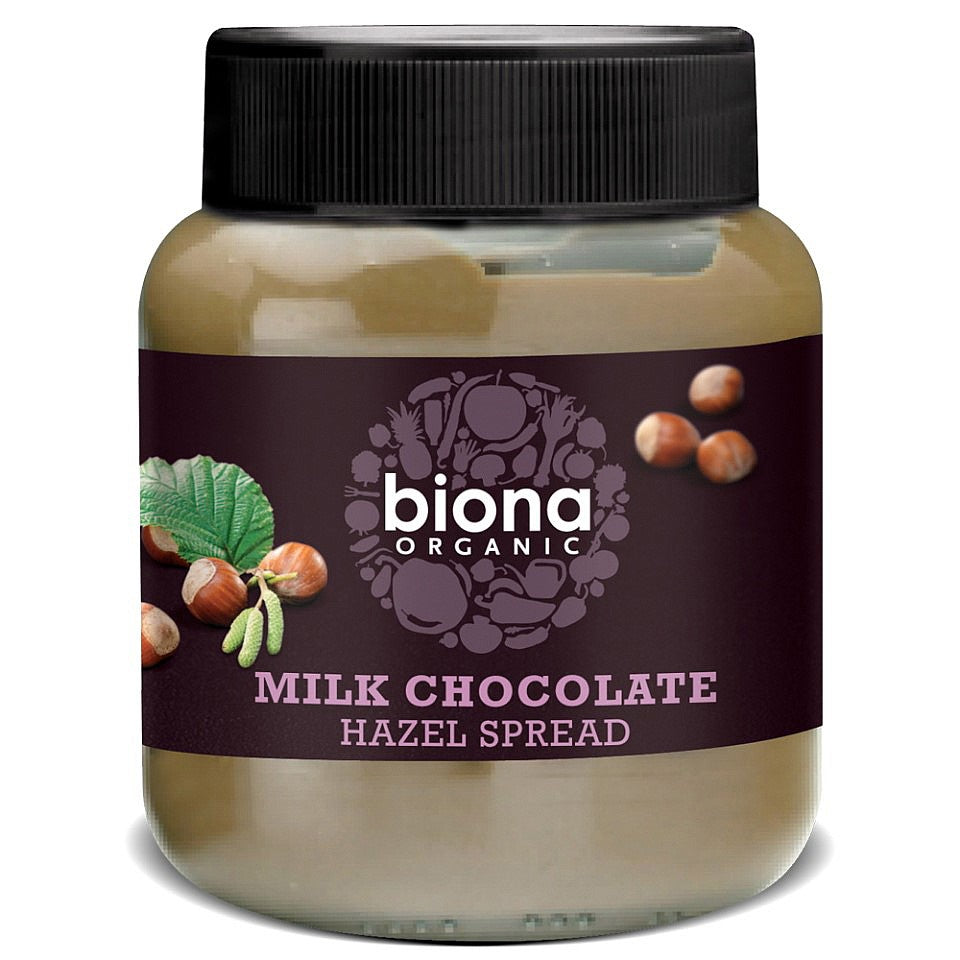 Biona Milk Chocolate Hazelnut Spread 350g