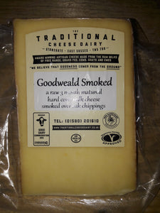 Goodweald Smoked Raw Cows Cheese approx. 220gm Sussex