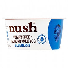 Nush Almond Milk Blueberry Yoghurt 120gm
