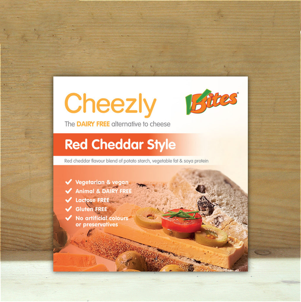 Red Vegan Cheddar Cheezley 190g