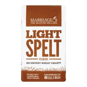 Marriages Light Spelt Flour 1kg Not Organic