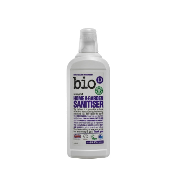 Bio-D Home & Garden Sanitiser 750ml