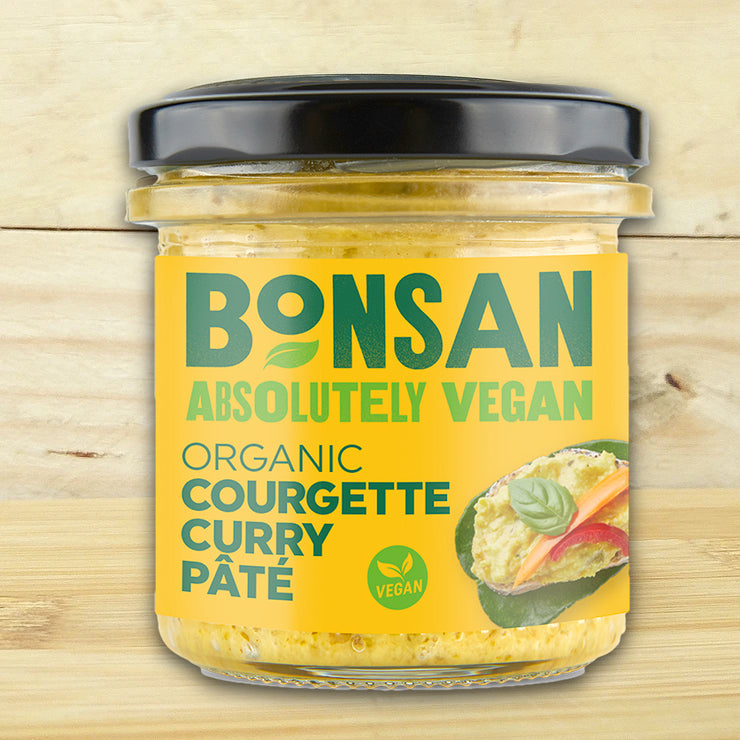 Bonsan Vegan Pate - Courgette Curry