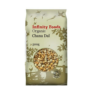 Infinity Chana Dal split hulled chickpeas 500g