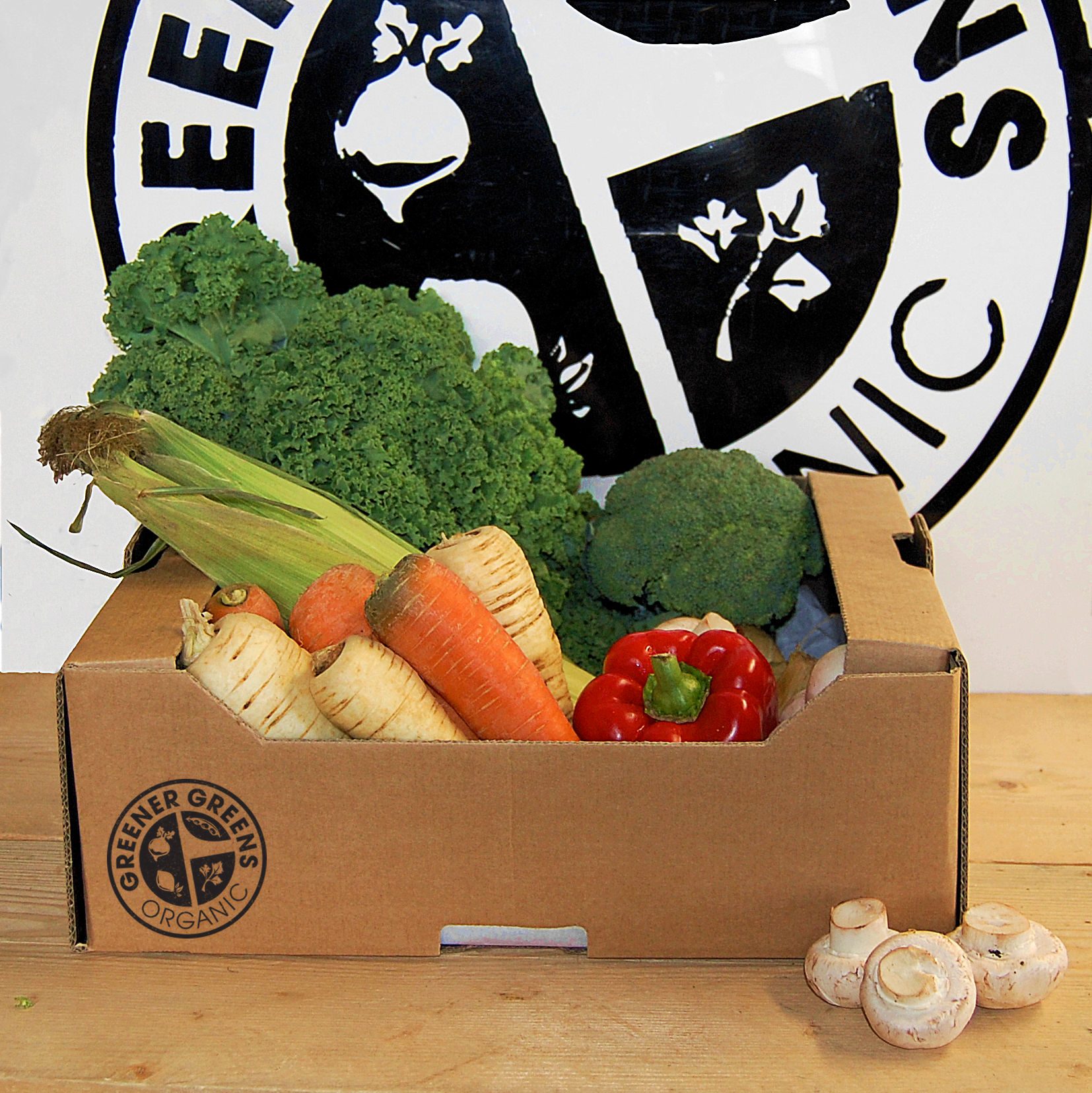 Small Seasonal Vegetable Box
