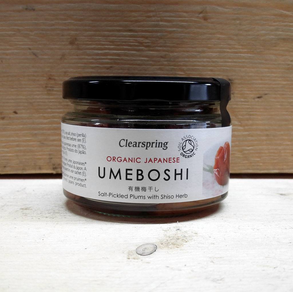 Umeboshi Plums Clearspring 200g