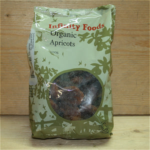 Infinity Dried Whole Apricots 500g