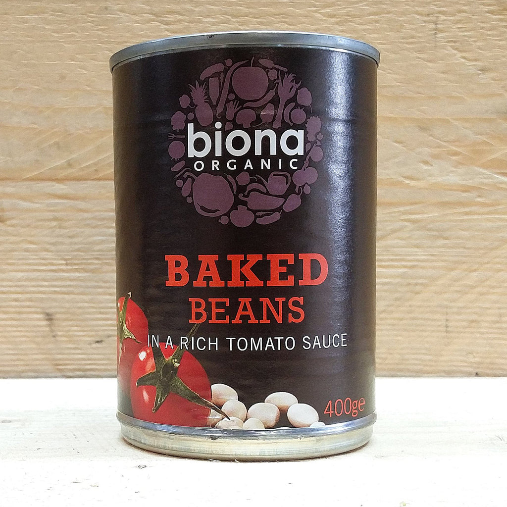Biona Baked Beans in Tomato Sauce 400g
