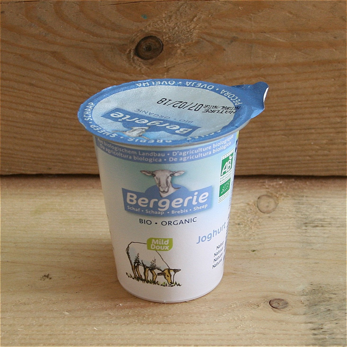 Yoghurt Natural Sheep's 125g