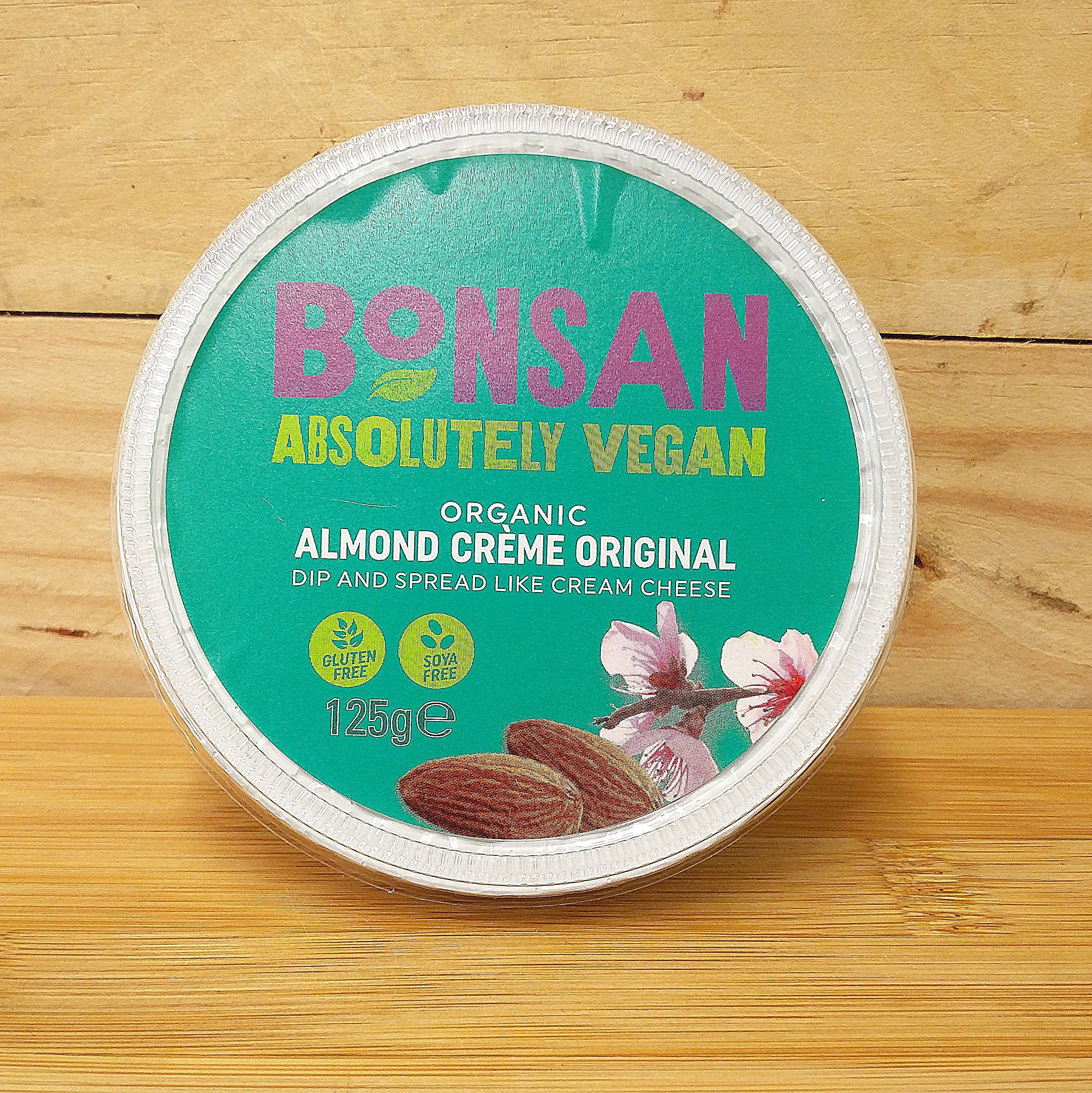Bonsan Almond Creme Original - Cream Cheese Vegan Alternative