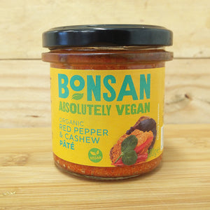 Bonsan Vegan Pate - Cashew & Bell Pepper
