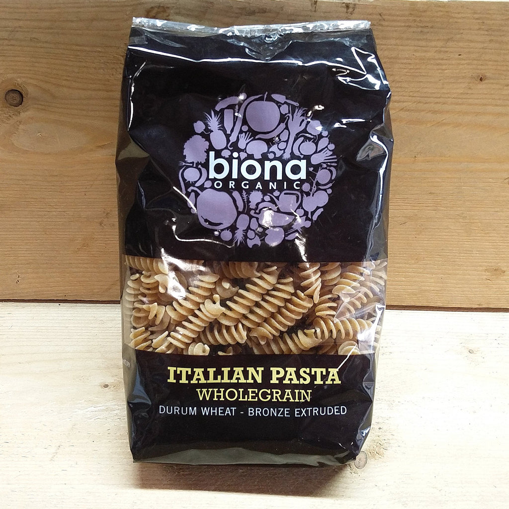 Wholegrain Durum Wheat Fusilli Pasta 500g
