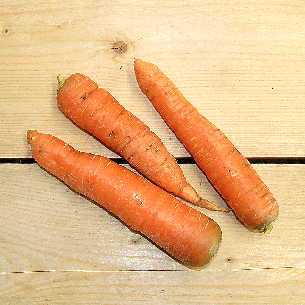Carrots Washed 500gm (BD) Kent