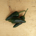 Chili Peppers Green Jalapeno 100g