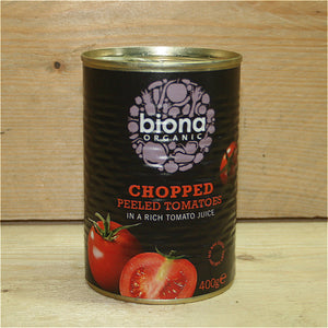 Biona Chopped Tomatoes 400g