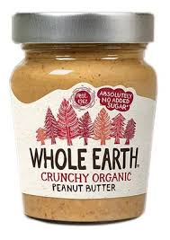 Whole Earth Crunchy Peanut Butter 350g