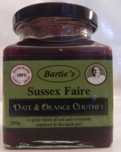 Date & Orange Chutney 290g Sussex