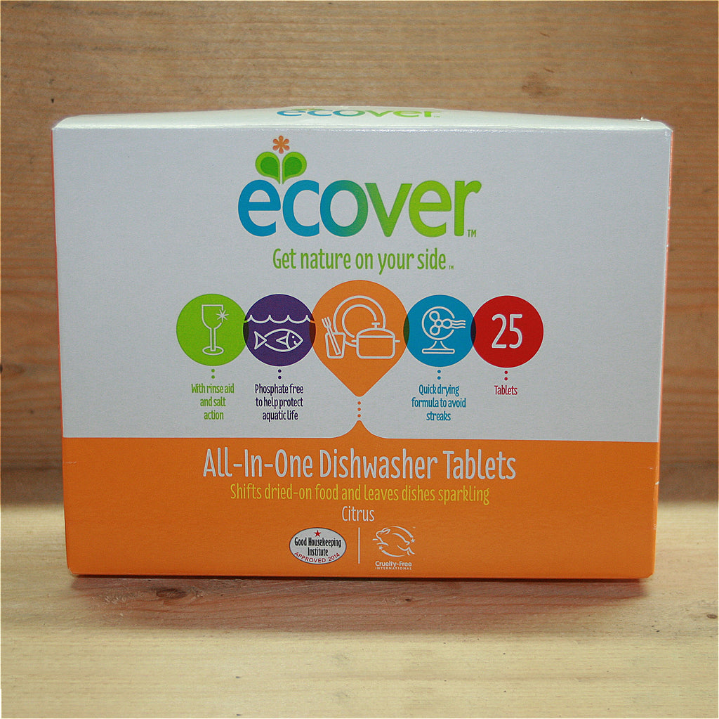 Ecover All-In-One Dishwasher Tablets 22 x 20g
