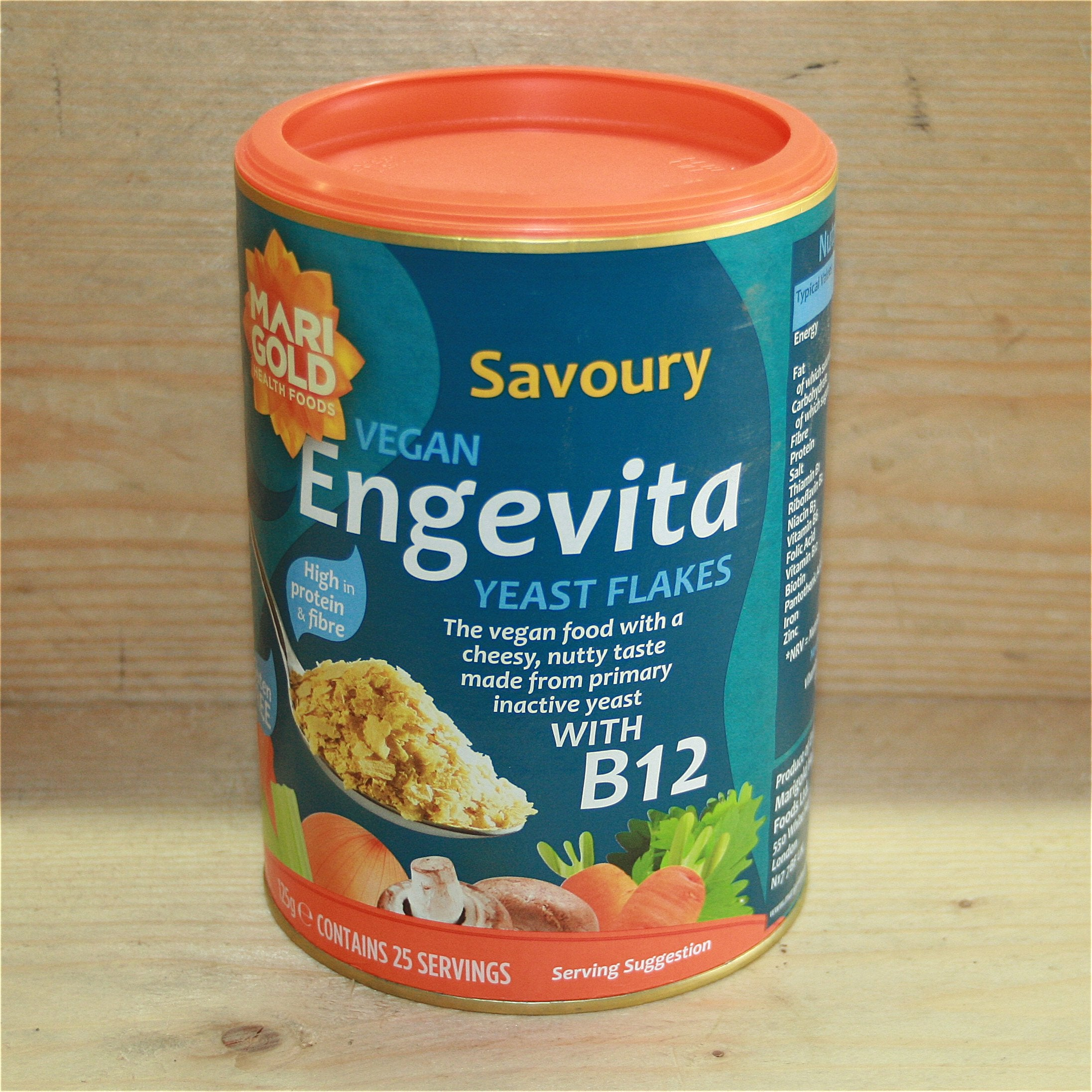 Engevita Yeast Flakes with B12