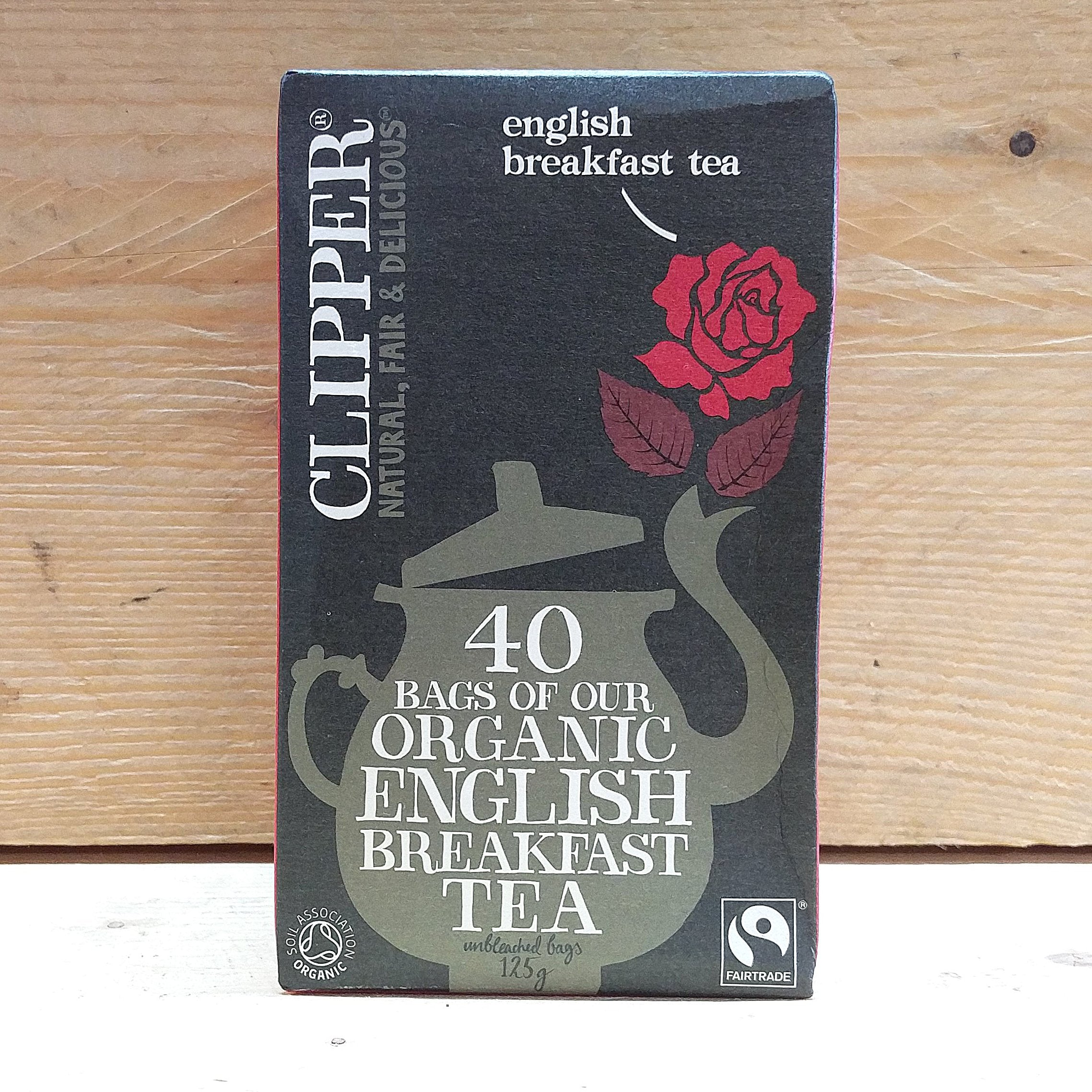 Clipper English Breakfast Tea
